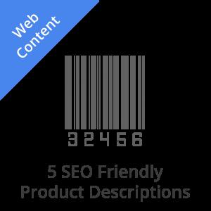5 SEO Product Descriptions