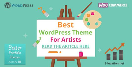Best WordPress Theme For Artists & Photographers