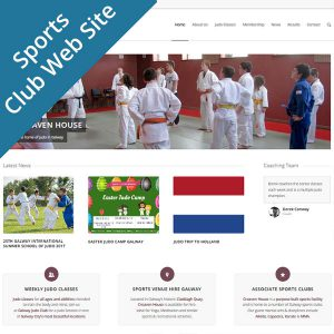 wp-sports-club-website