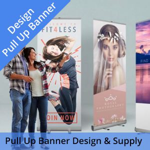 PullPull Up Banner Design & UK Delivery